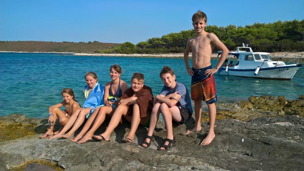 Am Strand mit AFUE Kids
