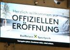 Sportpark Eröffnung